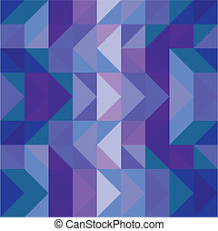 Seamless vector blue pattern