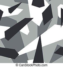 Alpine - Seamless vector camouflage series - Alpine