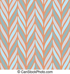 Seamless vector chevron pattern based on traditional mexican ornament in soft pastel colors. Endless ethnic background