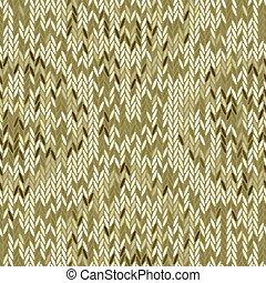 Seamless vector chevron pattern fabric textile