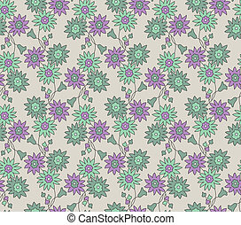 Seamless vector design for fabric