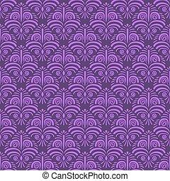 Seamless vector floral wallpaper