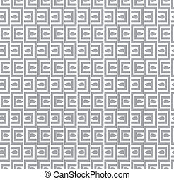 Seamless vector geometrical pattern