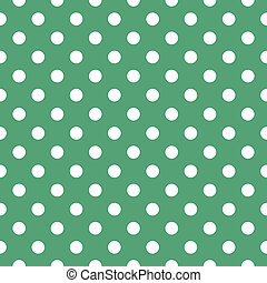 Seamless vector green pattern
