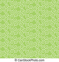 Seamless vector lines with curve pattern background