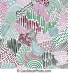 seamless, vector, model, abstract