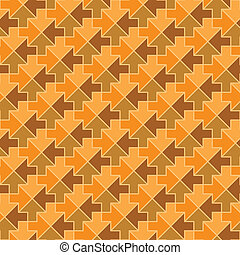 Seamless vector pattern - arrows