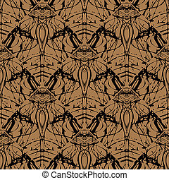 Seamless vector pattern in art deco style