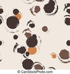 Seamless vector pattern of blots and stains