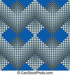 Seamless vector pattern of small squares