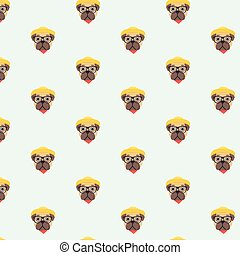 pattern with pug.