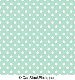 Seamless vector pattern with white circles.