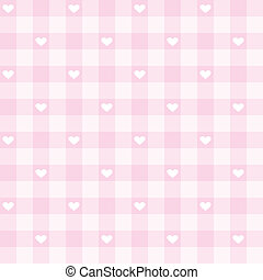 Seamless vector pink background