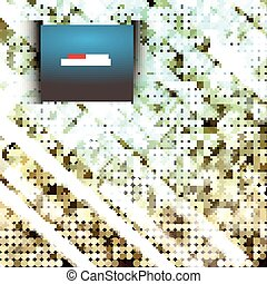 Seamless vector polka dot pattern background