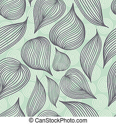 Seamless vector retro colored doodle background