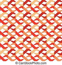 Seamless vector retro pattern