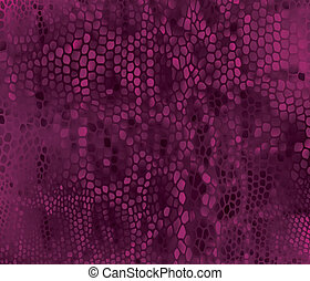 Seamless vector structured snake skin
