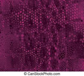 Seamless vector structured snake skin