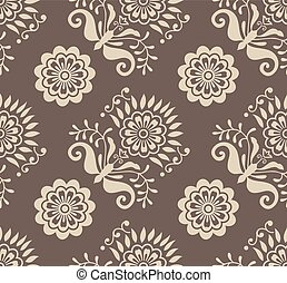 Seamless vector vintage pattern