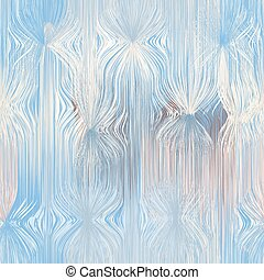 Seamless vertical pattern with grunge striped wavy elements in pastel colors