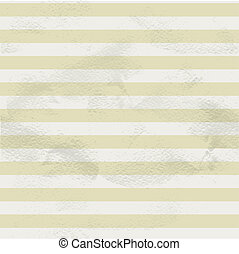 Seamless vintage beige pattern of white horizontal strips on...