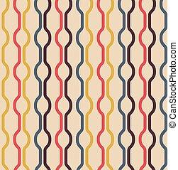 Seamless Vintage Colors Pattern