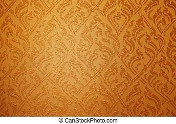 Seamless vintage fabric