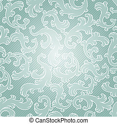 Seamless vintage floral pattern.