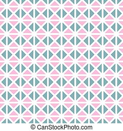 Seamless vintage geometric pattern background