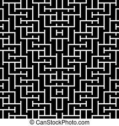 Seamless vintage geometric pattern.