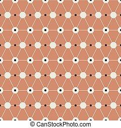 Seamless Vintage Graphic Pattern