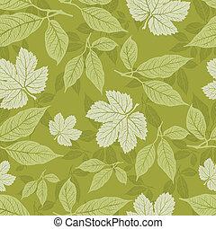 Seamless vintage pattern - Vector seamless vintage floral...