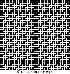 Seamless vintage trellis geometric pattern background