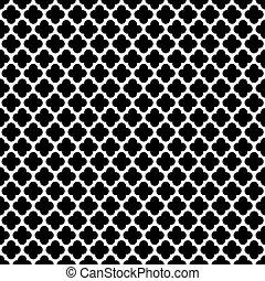 Seamless Vintage Trellis Pattern - Seamless Vintage Trellis...
