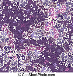 Seamless violet motley pattern - Seamless motley pattern...