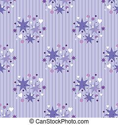 Seamless violet pattern
