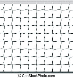 Seamless volleyball net - Seamless vector illustration of a ...