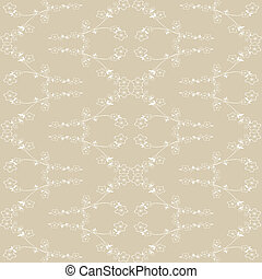 Seamless wallpaper of floral pattern