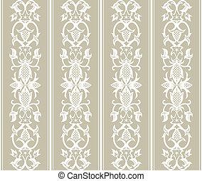 Seamless Wallpaper Pattern - Seamless wallpaper pattern in...