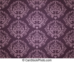 Seamless Wallpaper Pattern (Dark)