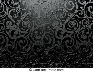Seamless wallpaper pattern, vector