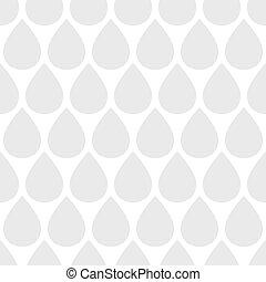 Seamless water drop pattern