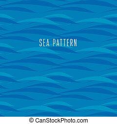 seamless water pattern. vector illustration