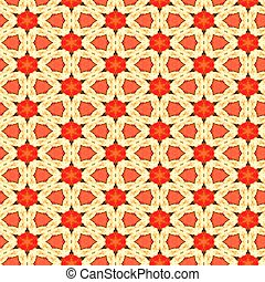 Seamless Watercolour Floral Pattern
