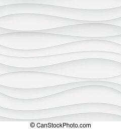 Seamless Wave Pattern. Curved Shapes Background. Regular...