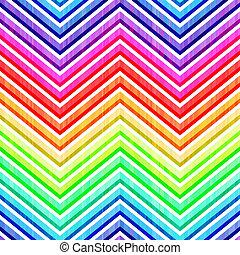 seamless wave rainbow background