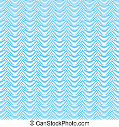 seamless waves abstract pattern