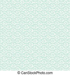 Seamless waves pattern.  Abstract geometric background