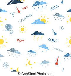 Seamless weather forecast pattern