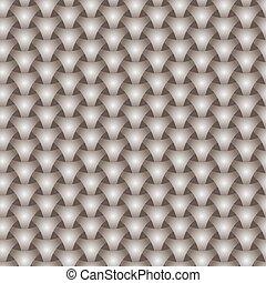 Seamless weaving triangle squama surface pattern - Seamless...